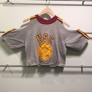 LF FURST OF A KIND USC CROP TOP ONE SIZE.